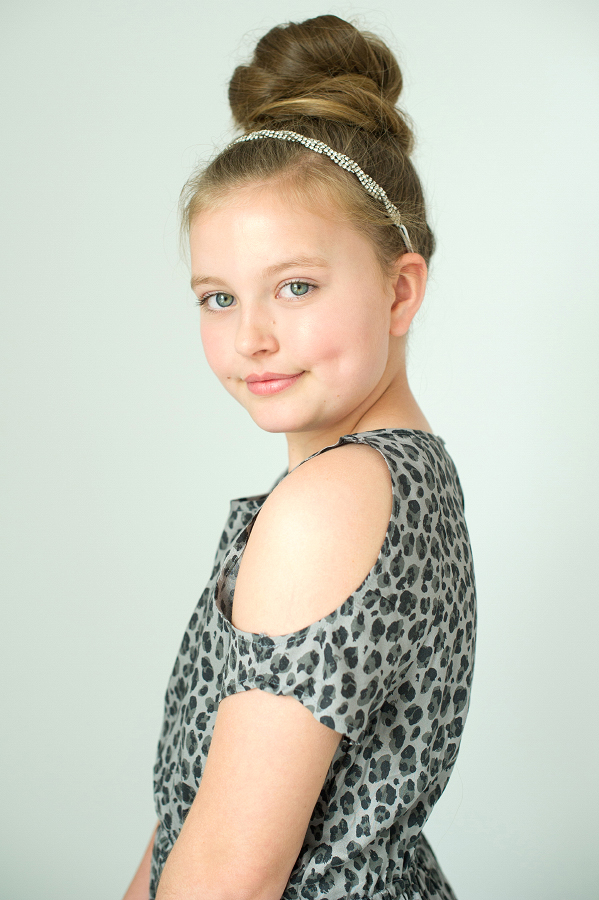 Raleigh Cary Holly Springs Child Model Teen Model Head Shot Photographer